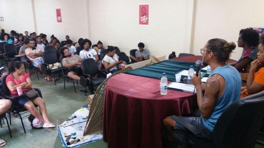 Evento tem grande participação dos estudantes
