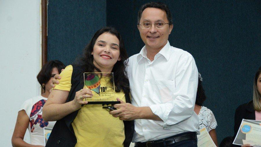 Educadores tiveram reconhecimento pelos projetos vencedores na 10ª edição do Prêmio Professores do Brasil realizada em 2017