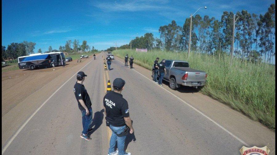 Operação Tiradentes começou no início da manhã nas Delegacias Regionais de Araguatins, Tocantinópolis e nas outras 11 Delegacias Regionais do interior do estado