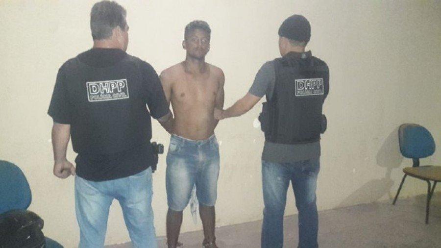 Cristiano Barros de Sousa, foi preso em Tailândia (PA), onde estava escondido