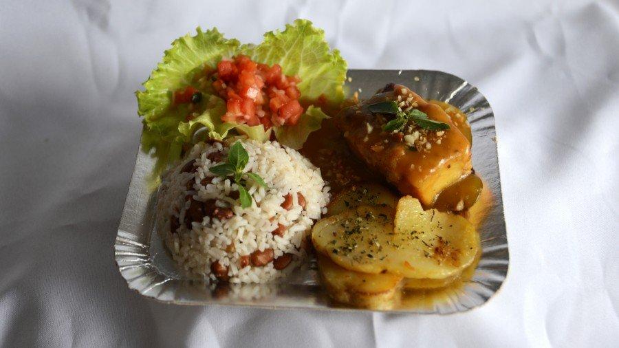 Pirarucu ao molho de maracujá é um dos competidores entre os pratos salgados