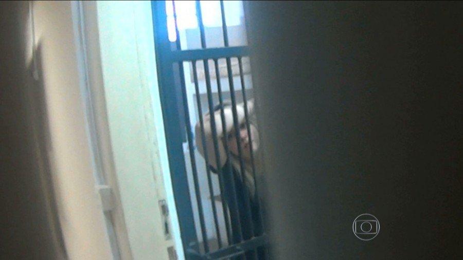 Lidiane Leite ficou presa em São Luís (Foto: Reprodução/TV Mirante)