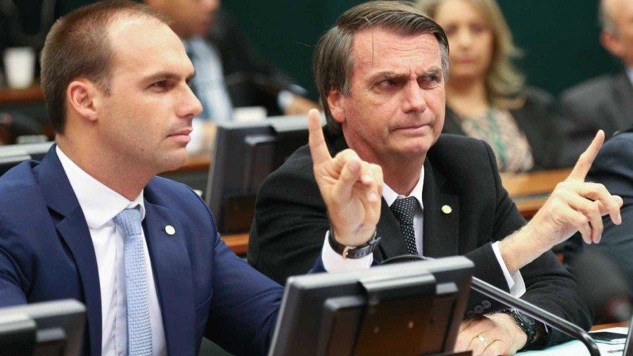 Candidato comentou declaração de Eduardo Bolsonaro que foi feita em julho (Foto: Fabio Rodrigues Pozzebom/Agência Brasil)