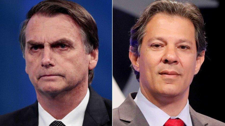 Os dois candidatos estão na reta final das campanhas