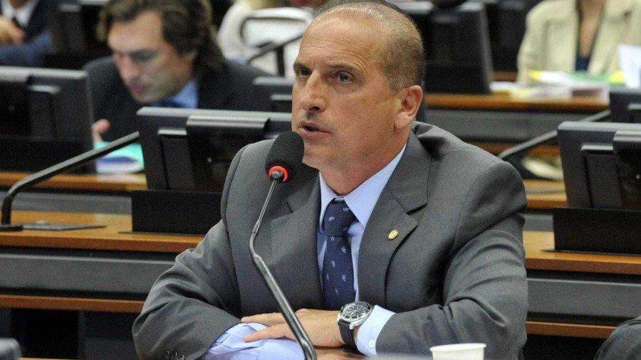 """""""Estamos em busca de um direito constitucional: a transparência dos atos públicos"""", explicou o deputado Onyx Lorenzoni (DEM)"""