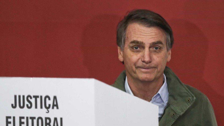 Com 55,15% dos votos, Bolsonaro é o 38º presidente do Brasil (Foto: REUTERS/Ricardo Moraes/Pool)