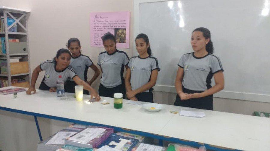 Equipe campeã da 1ª série do Ensino Médio (Turma 13.11)