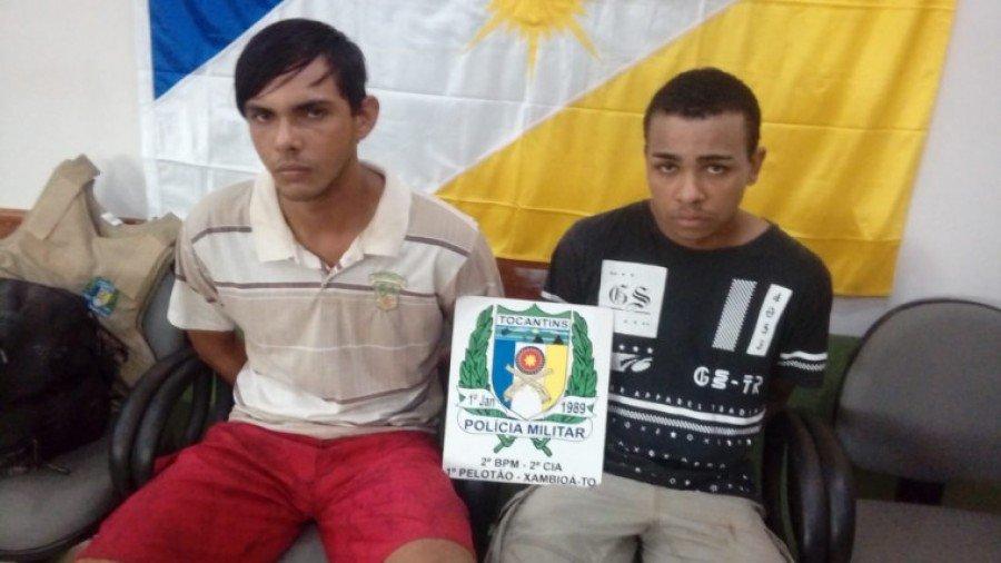 Suspeitos de assaltar a residência de um ex-vereador  da cidade de Ananás