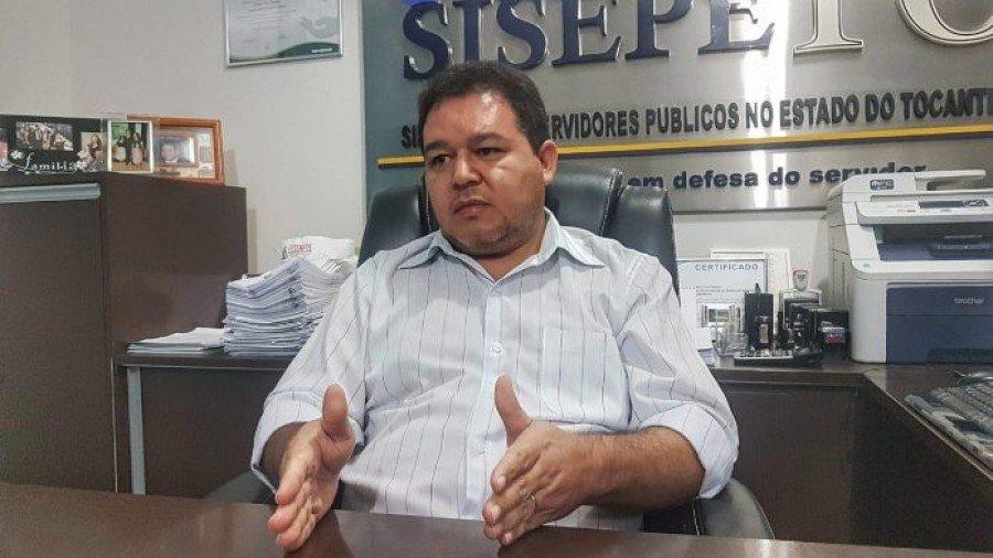 Presidente Sindicato dos Servidores Públicos no Tocantins, Cleiton Pinheiro (Foto: Divulgação)