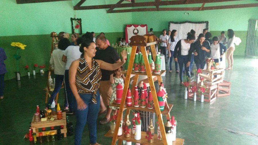Comunidade local prestigiou a exposição