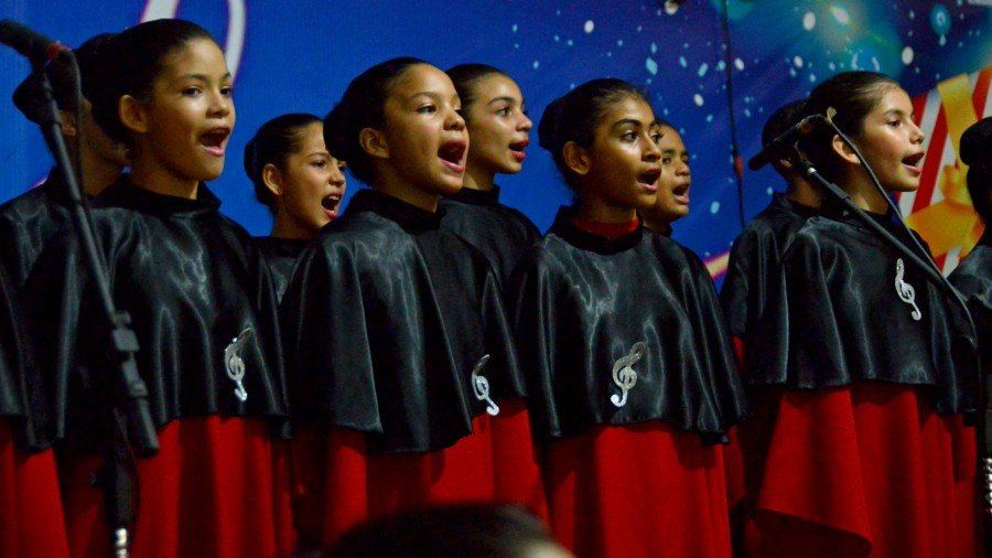 Cantata de Natal em Palmas, reunirá 300 vozes infantis no encerramento do Natal Cidade Encantada nesta quarta, 19