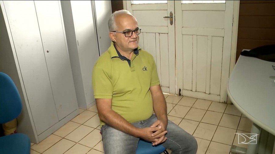 Polícia investiga ameças de ataques à ex-prefeito em Davinópolis (Foto: Reprodução/TV Mirante)