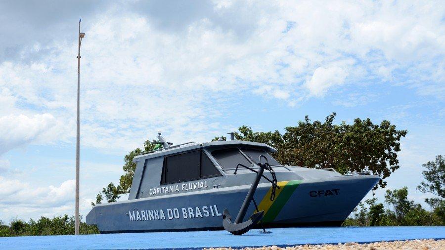 A Praça da Marinha está localizada na Avenida LO-19, que dá acesso à Praia do Prata e, além de paisagismo conta ainda com a exposição permanente de uma Lancha de Apoio a Ensino e Patrulha - LAEP-7