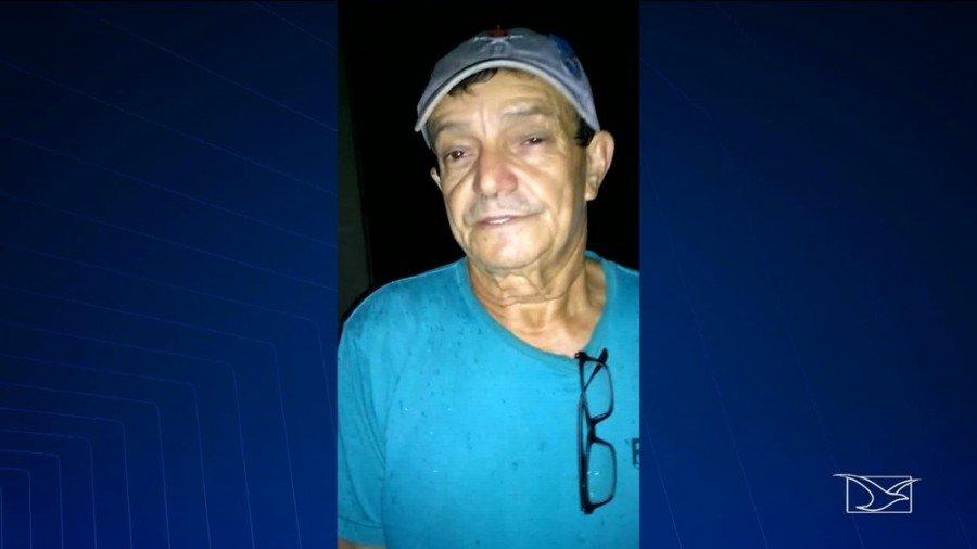 José Ribamar Bernardo Pinto é suspeito de abusar sexualmente da filha e enteada de 8 e 10 anos de idade (Foto: Reprodução/ TV Mirante)