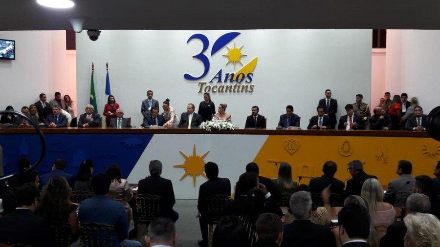 Deputados estaduais tomam posse para compor a 9ª Legislatura da Casa de Leis