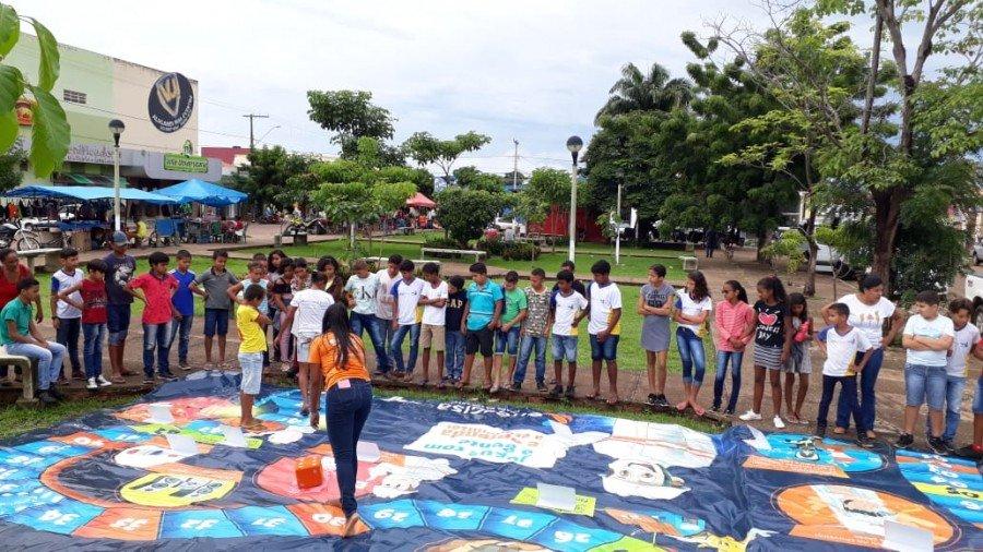 Projeto já esteve em Araguatins e até o mês de março, mais 9 municípios  receberão teatro, cinema e espetáculo com palhaços