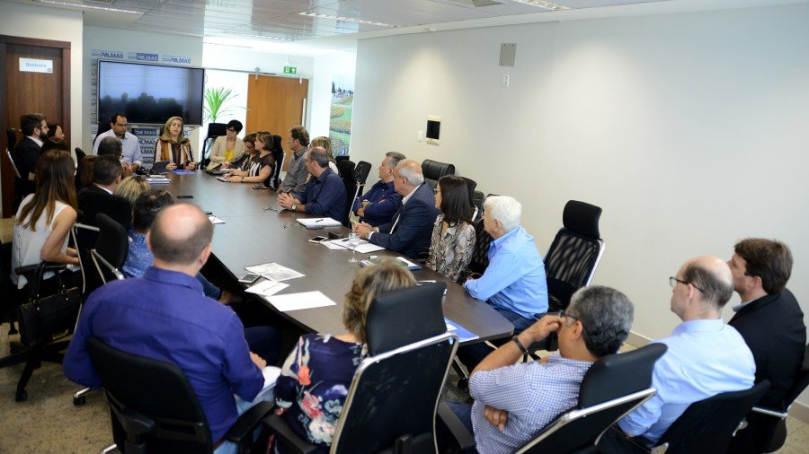 Prefeita Cinthia reuniu secretariado e determinou foco na humanização e qualidade dos serviços públicos (Foto: Regiane Rocha)