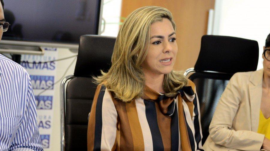 Prefeita de Palmas, Cinthia Ribeiro (Foto: Regiane Rocha)