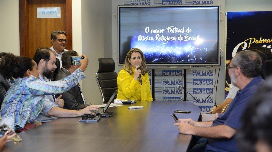 Prefeitura de Palmas anunciou atrações para as cinco noites do Capital da Fé 2019 (Foto: Edu Fortes)