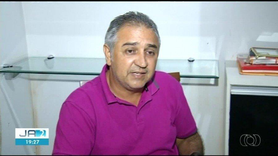 Prefeito confessou que atirou na casa de vereador e disse que perdeu o controle(Foto: Reprodução/TV Anhanguera)