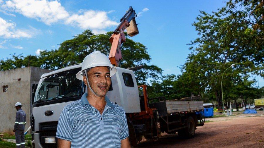 O Adilson Pereira Faustino está há 14 anos na Prefeitura