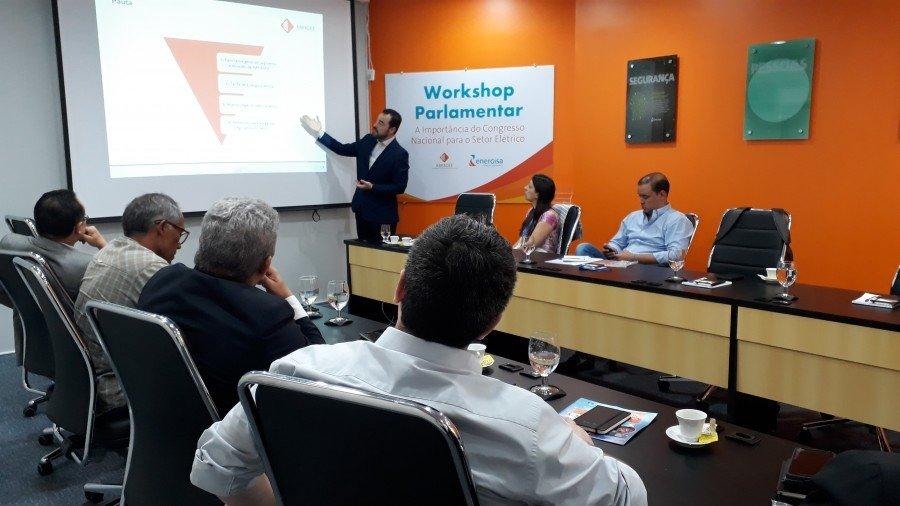 Parlamentares participaram de workshop sobre a importância do  Congresso Nacional para o setor elétrico brasileiro