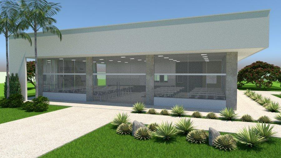 Serão contempladas com o novo padrão 03 escolas de ensino médio estaduais do Bico do Papagaio