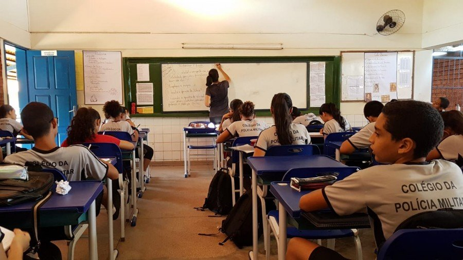Colégio da Polícia Militar de Augustinópolis inicia semana de observação sistemática de aula