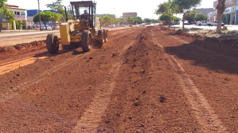 Trabalhos estão concentrados entre as Avenidas NS-02 e NS-08, que compreende trecho da LO-14 entre as Arnes 41, 51, 53 e 63