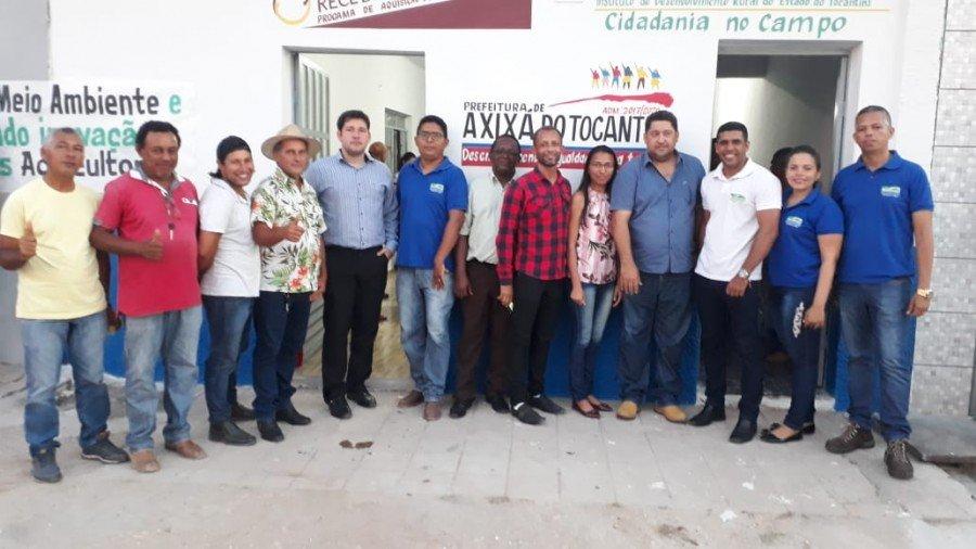 Axixá do Tocantins recebeu novo escritório do Ruraltins e central de distribuição de alimentos