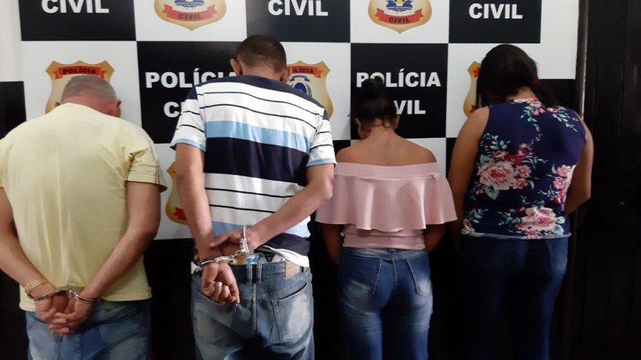 Polícia Civil prendeu suspeitos de aplicar golpes em idosos dentro de agências bancárias do Bico do Papagaio