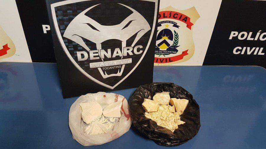 Drogas apreendidas pela DENARC
