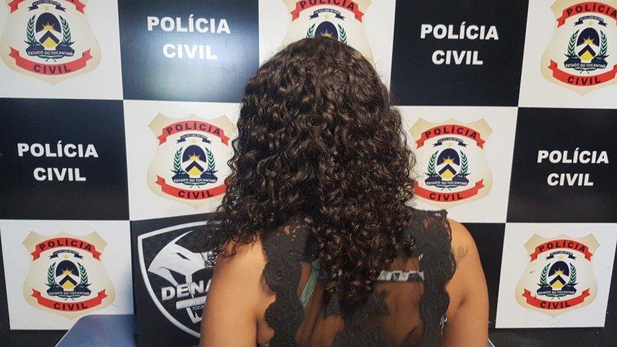 Companheira do suspeito foi presa por tráfico de drogas