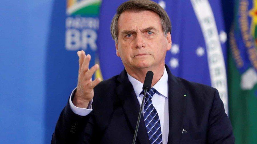 Bolsonaro ironiza Huck e Doria por compra de avião pelo BNDES (Foto: Reuters)