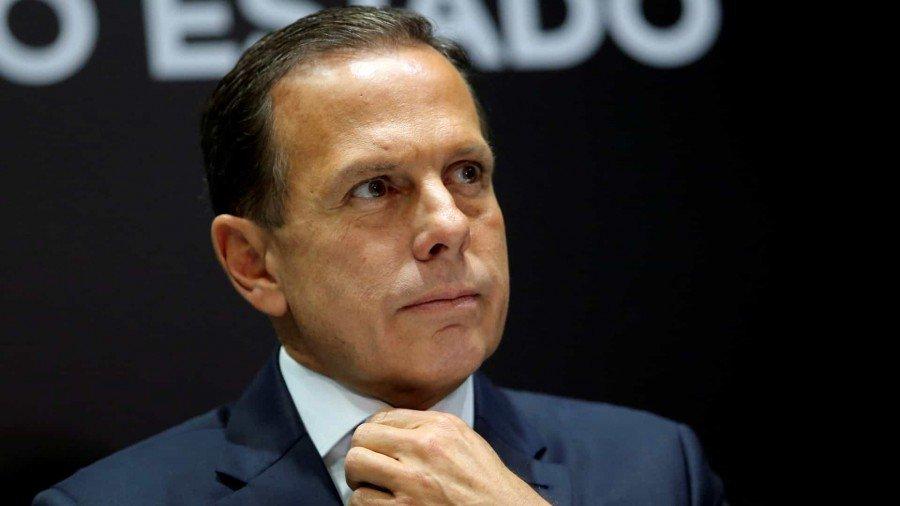 Nunca precisei mamar na teta de ninguém, responde Doria a Bolsonaro (Foto: Amanda Perobelli / Reuters)