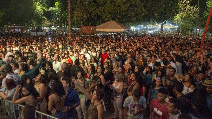 Público acompanhou Dorgival em todas as músicas