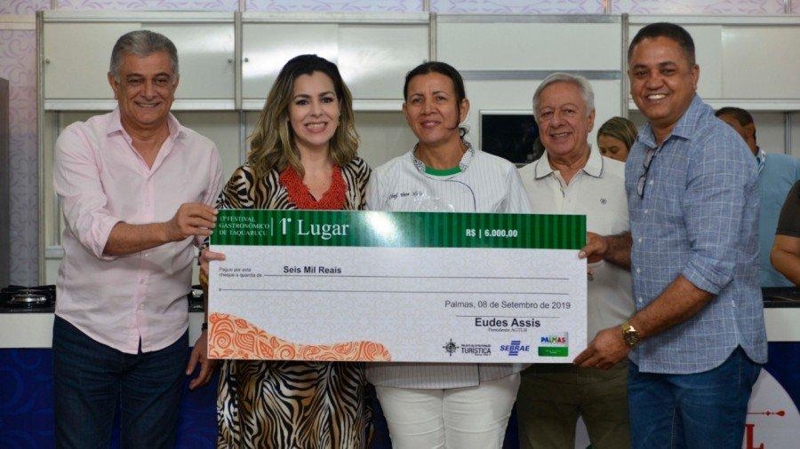 Prefeitura de Palmas premiou vencedores do 13º Festival Gastronômico de Taquaruçu