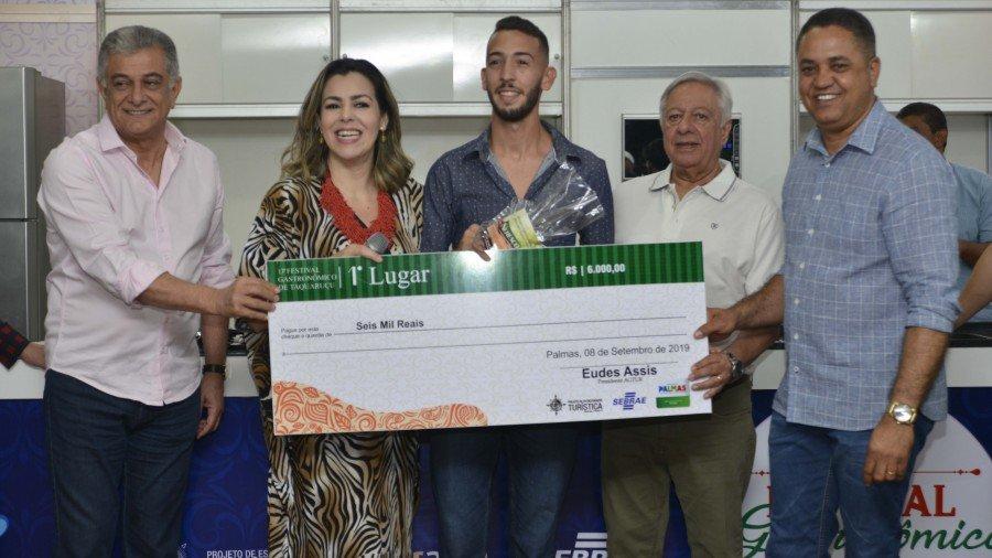 Na categoria Empreendimentos, o Celia's Restaurante venceu com prato 'Marizabel de Pirarucu'
