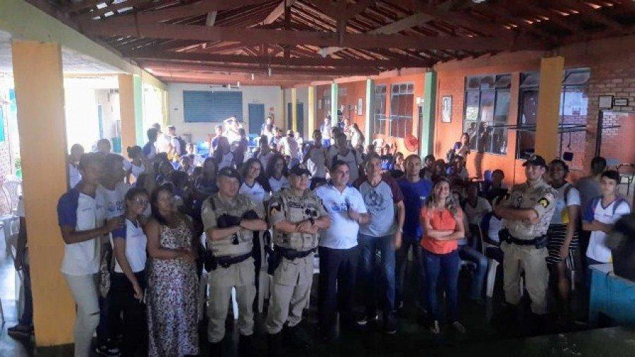 PM realizou visita cidadã no colégio estadual Buriti, em Buriti do Tocantins