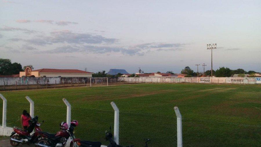 Estádio Alto da Colina, em Carolina-MA (Foto: Divulgação)