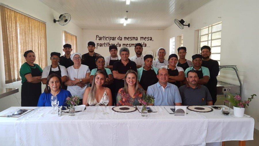 Participantes e júri técnico do Festival Gastronômico de Miracema (Foto: Divulgação)