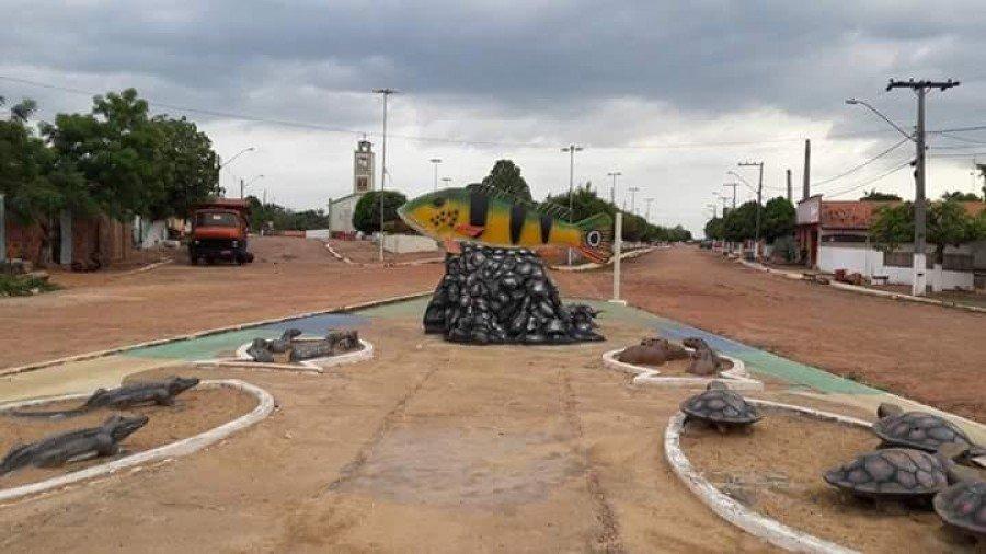 Imagem da cidade de São Sebastião do Tocantins (Foto: Divulgação)