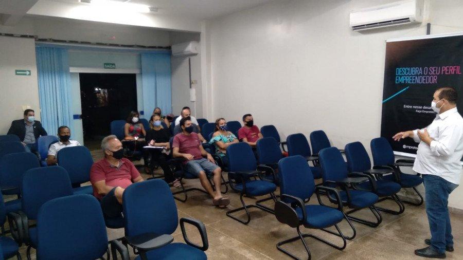 Programa Empreender é lançado em Dianópolis no auditório do Sebrae (Foto: Divulgação/Sebrae)