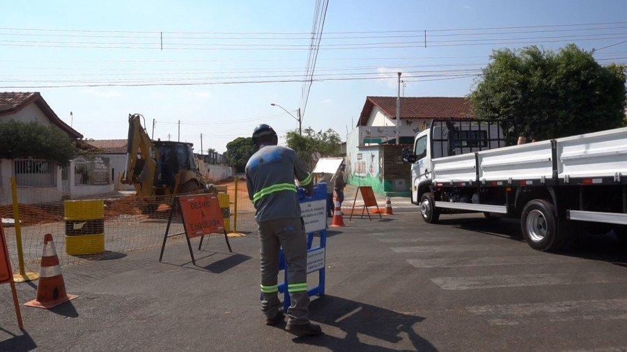 Nesta fase serão construídos 37 mil metros de redes de esgoto (Foto: Divulgação/BRK Ambiental)
