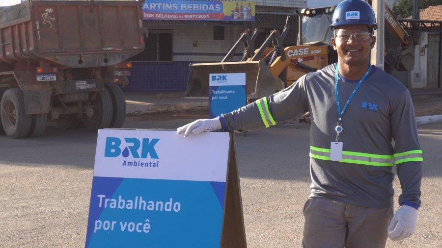 BRK Ambiental inicia nova etapa de obras de esgoto para beneficiar novas famílias em Taguatinga (Foto: Divulgação)