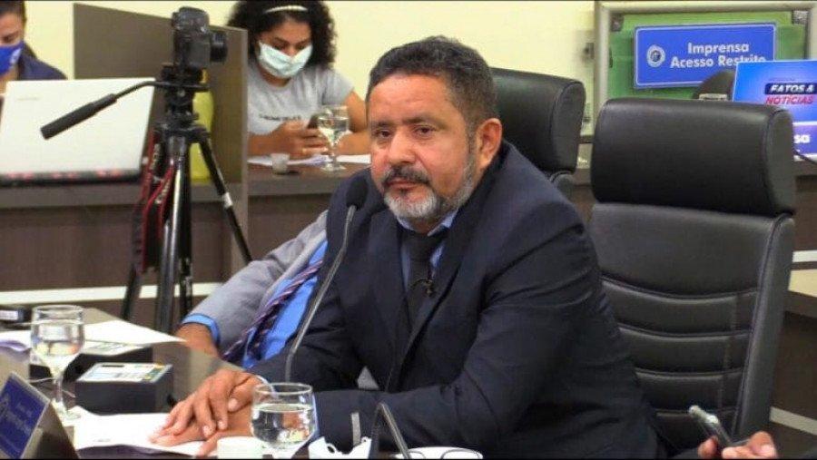 Vereador de Araguaína, Jorge Carneiro, é acusado de homofobia por fala contra jornalista em discurso na Câmara (Foto: Divulgação)