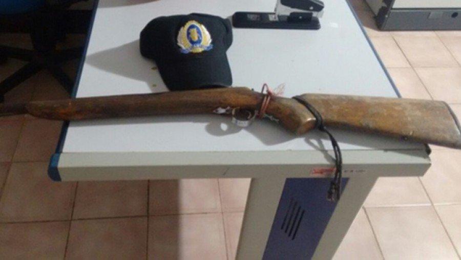 Arma usada no crime