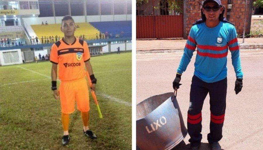 Helves Presley atua como assistente da Federação Tocantinense de Futebol (FTF) e concursado no cargo de gari na Prefeitura de Luzinópolis