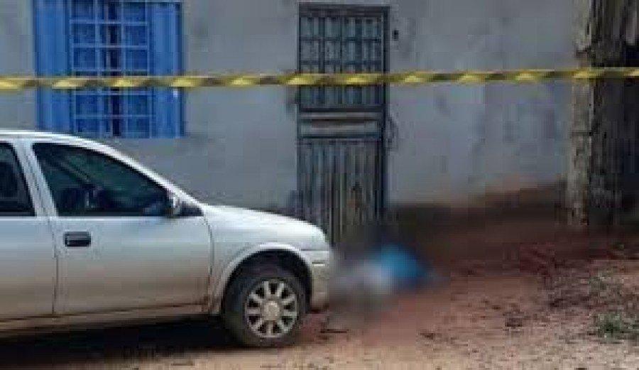 Ele foi morto com vários tiros em frente a uma residência em Imperatriz-MA ( Foto: Reprodução)