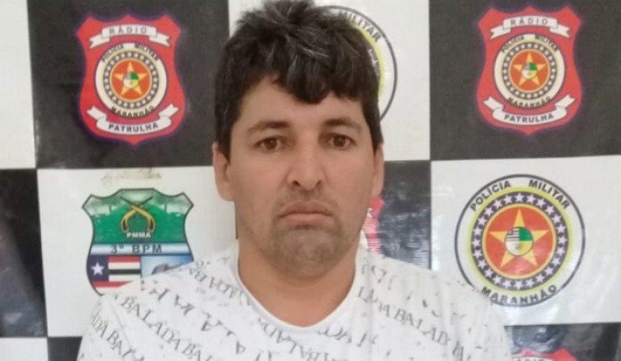 PM cumpriu mandado de prisão em Governador Edson Lobão-MA, expedido pela 2ª Vara Criminal de Parauapebas-PA